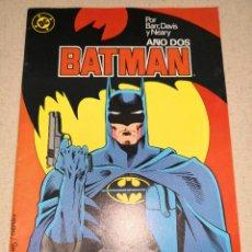 Cómics: BATMAN AÑO DOS 4. Lote 124472907