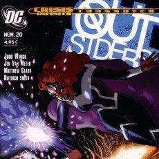 Comics : OUTSIDERS. COLECCION COMPLETA: 20 NUMEROS. PLANETA. Lote 124541767