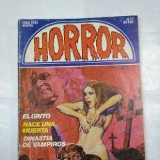 Cómics: HORROR - Nº 27 - EDICIONES ZINCO. EL GRITO. NACE UNA MUERTA. DINASTIA DE VAMPIROS. TDKC35. Lote 124680823