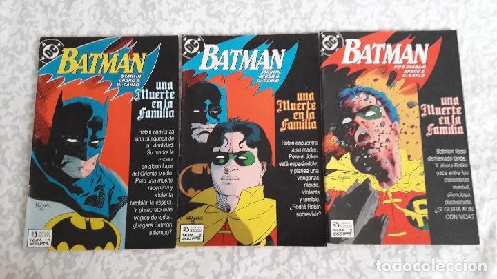 Batman Una Muerte En La Familia 1 A 3 Complet Sold Through