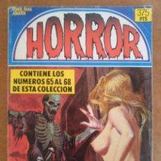 Fumetti: HORROR RETAPADO CON LOS NUMEROS 65 A 68 - ZINCO - OFM15. Lote 125434251