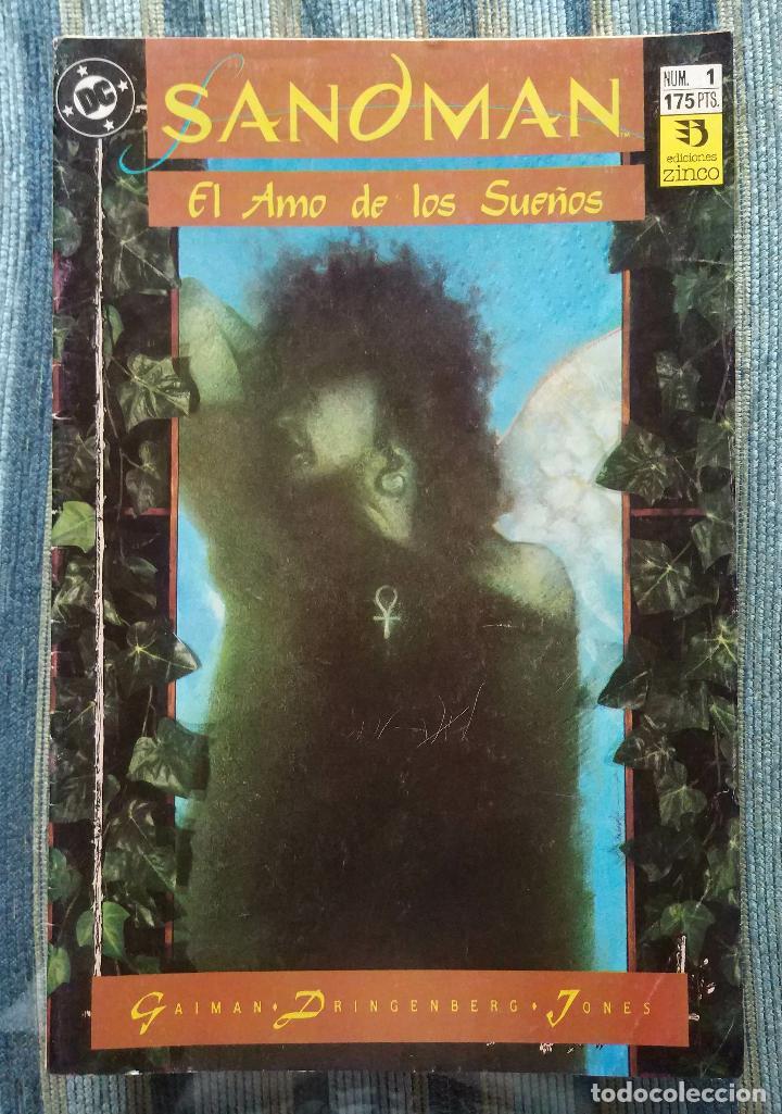 SANDMAN (COLECCIONES COMPLETAS) - NEIL GAIMAN (ZINCO 1991, 1993 Y 1995) (Tebeos y Comics - Zinco - Otros)