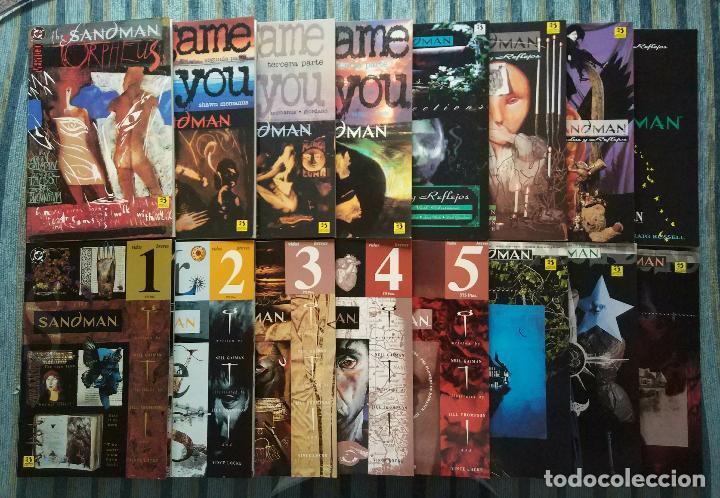 Cómics: SANDMAN (COLECCIONES COMPLETAS) - NEIL GAIMAN (ZINCO 1991, 1993 Y 1995) - Foto 5 - 125850599