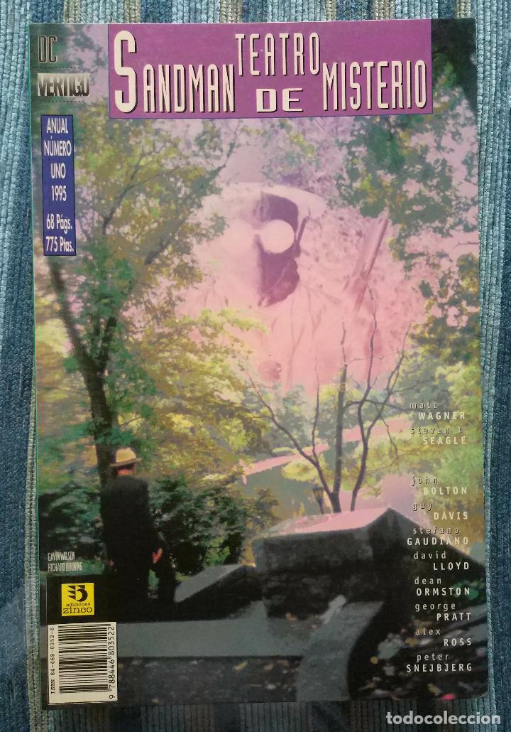 Cómics: SANDMAN (COLECCIONES COMPLETAS) - NEIL GAIMAN (ZINCO 1991, 1993 Y 1995) - Foto 6 - 125850599
