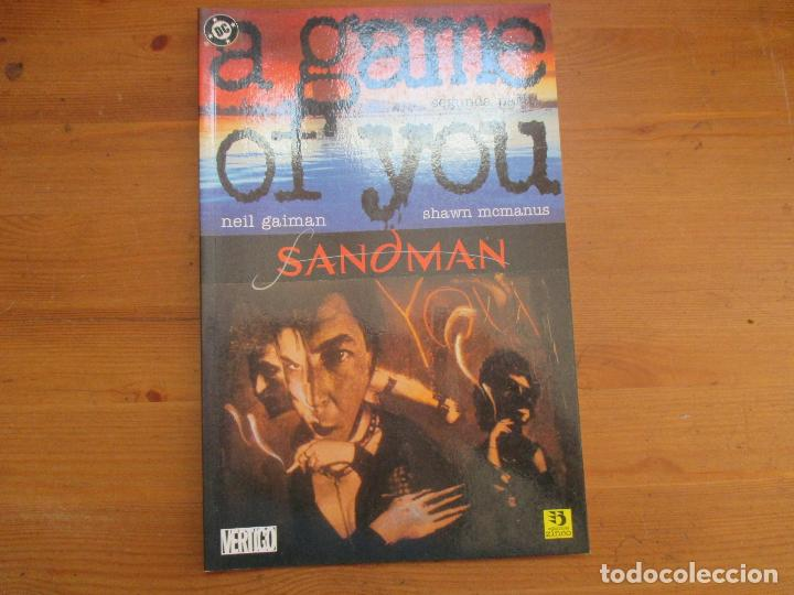 SANDMAN SEGUNDA PARTE. A GAME OF YOU. NEIL GAIMAN. EDICIONES ZINCO (Tebeos y Comics - Zinco - Otros)
