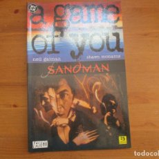 Cómics: SANDMAN SEGUNDA PARTE. A GAME OF YOU. NEIL GAIMAN. EDICIONES ZINCO. Lote 125886791