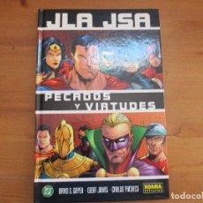 Cómics: JLA JSA. PECADOS Y VIRTUDES. DAVID. S. GOYER. NORMA EDITORIAL. Lote 125912811