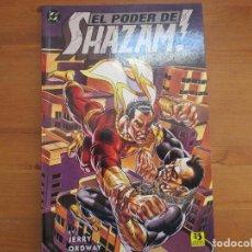 Cómics: EL PODER DE SHAZAM. JERRY ORDWAY. EDICIONES ZINCO. Lote 125913155