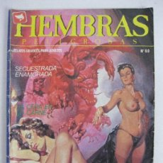 Cómics: HEMBRAS PELIGROSAS NÚM 80. Lote 125924111