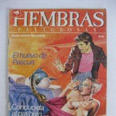 Cómics: HEMBRAS PELIGROSAS NÚM 44. Lote 125924311