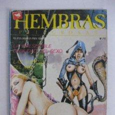 Cómics: HEMBRAS PELIGROSAS NÚM 74. Lote 125924651