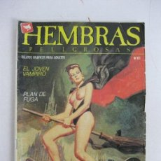Cómics: HEMBRAS PELIGROSAS NÚM 81. Lote 125925515