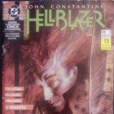 Cómics: HELLBLAZER Nº 1, 2, 4 Y 5 POR JAMIE DELANO Y JOHN RIDGWAY EDICCIONES ZINCO. Lote 126008715