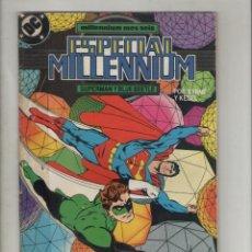 Cómics: ESPECIAL MILLENNIUN-AÑO 1988-DC-ZINCO-COLOR-FORMATO GRAPA-Nº 7-SUPERMAN Y BLUE BEETLE. Lote 126051691