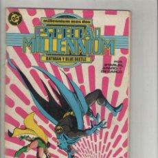 Cómics: ESPECIAL MILLENNIUN-AÑO 1988-DC-ZINCO-COLOR-FORMATO GRAPA-Nº 2-BATMAN Y BLUE BEETLE. Lote 126052379
