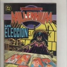 Cómics: MILLENNIUN-AÑO 1988-DC-ZINCO-COLOR-FORMATO GRAPA-Nº 4-LA ELECCION. Lote 126053119
