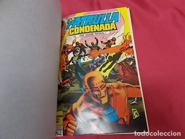 Cómics: LA PATRULLA CONDENADA. DOOM PATROL. TOMO 1. RETAPADO DEL Nº 1 AL 4 EDICIONES ZINCO - Foto 2 - 126069783