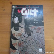 Cómics: BATMAN. THE CULT. LIBRO 1: LA PRUEBA JIM STARLIN. EDICIONES ZINCO. Lote 126072327