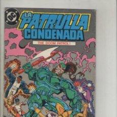 Cómics: LA PATRULLA CONDENADA-AÑO 1988-DC-ZINCO-COLOR-FORMATO GRAPA-Nº 14-AFRENTA PUBLICA. Lote 126085091