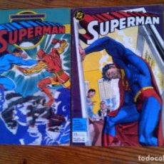 Cómics: LOTE DE DOS COMICS DE SUPERMAN N,37 Y 41 EDICIONES ZINCO. Lote 126118551