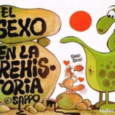 Cómics: EL SEXO EN LA PREHISTORIA (VAZQUEZ) ZINCO - COMO NUEVO - OFI15T. Lote 126122827