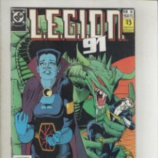 Cómics: LEGION 91-DC-ZINCO-AÑO 1985-COLOR-FORMATO GRAPA-Nº 6-NO MIRES ATRAS. Lote 126546863