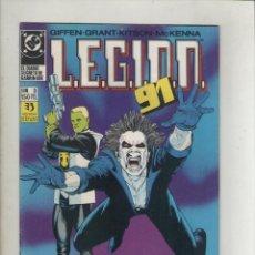 Cómics: LEGION 91-DC-ZINCO-AÑO 1985-COLOR-FORMATO GRAPA-Nº 3-EL DIARIO SECRETO DE GARRYN BEK. Lote 126547039