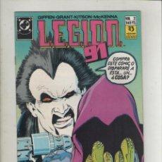 Cómics: LEGION 91-DC-ZINCO-AÑO 1985-COLOR-FORMATO GRAPA-Nº 2-EL PADRINO TIRA DE LOS HILOS. Lote 126547239