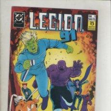 Cómics: LEGION 91-DC-ZINCO-AÑO 1985-COLOR-FORMATO GRAPA-Nº 1-COMO GANAR AMIGOS E INFLUENCIA. Lote 126547431