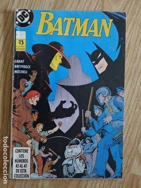 BATMAN TOMO 9 VOLUMEN 2 RETAPADO CONTIENE LOS NÚMEROS 43 AL 47 EDICIONES ZINCO DC (Tebeos y Comics - Zinco - Batman)