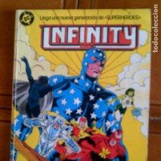 Comics: COMIC DE INFINITY INC N,2 CONTIENE LOS NUMEROS DEL 6 AL 10 DE 1986. Lote 126736559