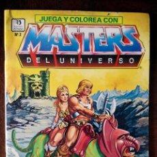 Cómics: MASTERS DEL UNIVERSO JUEGA Y COLOREA Nº 2 PRECIOSOS DIBUJOS Y JUEGOS NUEVO. Lote 126789087