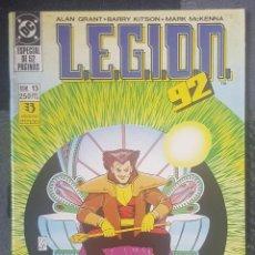 Cómics: LEGION 92 #13 (ZINCO, 1992). Lote 126813307