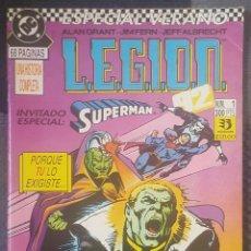 Cómics: LEGION 92 ESPECIAL VERANO #1 (ZINCO, 1992). Lote 126813511