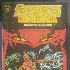 Cómics: LA PATRULLA CONDENADA #2 (ZINCO, 1988). Lote 126813807