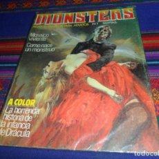 Cómics: MONSTERS Nº 1. ZINCO 1982. 125 PTS. MUY BUEN ESTADO. MOSAICO VIVIENTE.. Lote 126895467