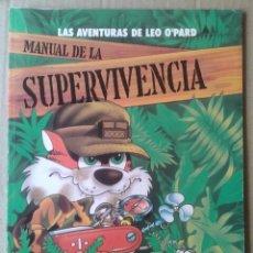 Cómics: LAS AVENTURAS DE LEO O'PARD N°2: MANUAL DE LA SUPERVIVENCIA (EDICIONES ZINCO, 1990). 64 PÁGINAS.. Lote 126905471