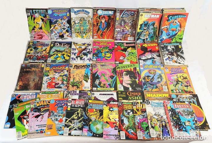 EXCEPCIONAL COLECCIÓN DE CLÁSICOS DC. 197 COMICS. EDICIONES ZINCO. 1985/1994. (Tebeos y Comics - Zinco - Otros)