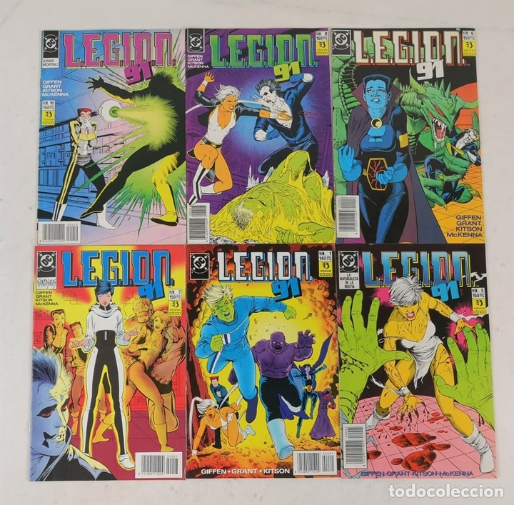 Cómics: EXCEPCIONAL COLECCIÓN DE CLÁSICOS DC. 197 COMICS. EDICIONES ZINCO. 1985/1994. - Foto 15 - 126973463
