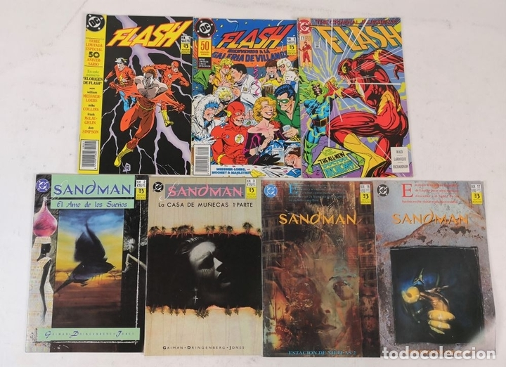Cómics: EXCEPCIONAL COLECCIÓN DE CLÁSICOS DC. 197 COMICS. EDICIONES ZINCO. 1985/1994. - Foto 61 - 126973463