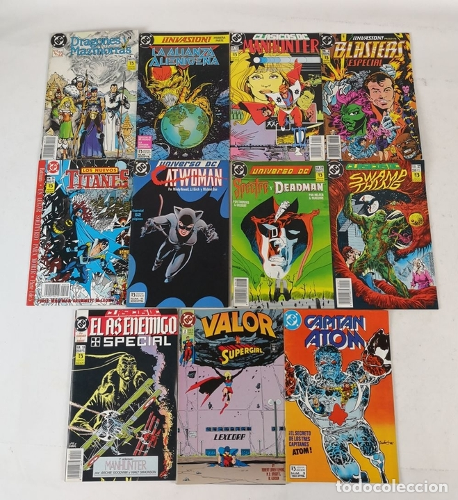 Cómics: EXCEPCIONAL COLECCIÓN DE CLÁSICOS DC. 197 COMICS. EDICIONES ZINCO. 1985/1994. - Foto 64 - 126973463