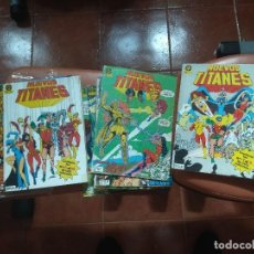 Cómics: NUEVOS TITANES VOL.1 1 AL 50 (FALTA 22) ZINCO. Lote 127076691