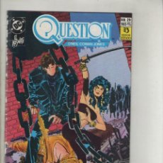Cómics: QUESTION-DC-ZINCO-AÑO 1987-COLOR-FORMATO GRAPA-Nº 29-EL ASESINATO. Lote 127112847