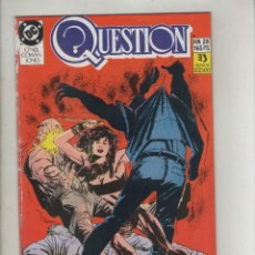 Cómics: QUESTION-DC-ZINCO-AÑO 1987-COLOR-FORMATO GRAPA-Nº 28-UN LUGAR PARA LAS ARTES. Lote 127112995