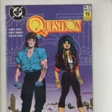 Cómics: QUESTION-DC-ZINCO-AÑO 1987-COLOR-FORMATO GRAPA-Nº 27-CAPITAN ESTRELLAS Y SARGENTO BARRAS. Lote 127113183