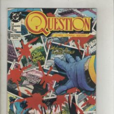 Cómics: QUESTION-DC-ZINCO-AÑO 1987-COLOR-FORMATO GRAPA-Nº 10-SANTA PRISCA. Lote 127113703
