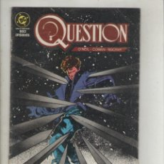 Cómics: QUESTION-DC-AÑO 1987-SERIE DE 12Nº-COLOR-FORMATO GRAPA-Nº 5-PAISAJE URBANO. Lote 127113947
