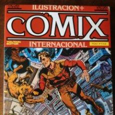 Cómics: 3 COMIX Nº 42-43-44 + ILUSTRACION INTERNACIONAL EXTRA Nº 13 NUEVO 1984. Lote 127183107