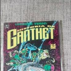 Cómics: LINTERNA VERDE HISTORIA DE GANTHET EDICIONES ZINCO. Lote 127513507