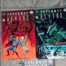 Cómics: SUPERMAN ALIENS SERIE COMPLETA EDICIONES ZINCO. Lote 127510247